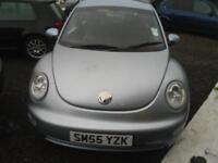 2005 VOLKSWAGEN BEETLE 3 DOOR HATCHBACK IN LIGHT BLUE COMES WITH FULL YEARS MOT