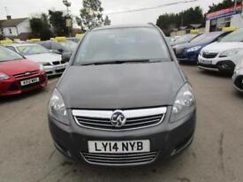 2014 Vauxhall Zafira 1.8 i VVT 16v Exclusiv 5dr
