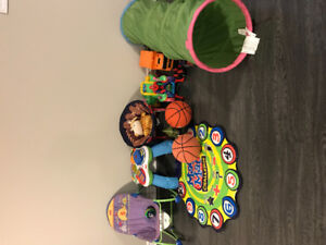 Kids toys and kids table