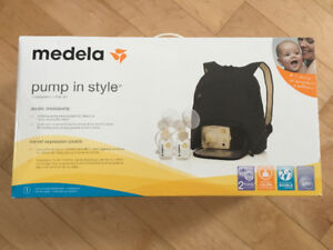 Medela double breast pump