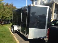 2015 6x12 Cargo mate V-nose trailor