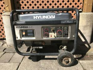 Hyundai 3500W gas generator