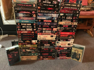 Massive VHS collection - Horror, Action, Comedy and Kids