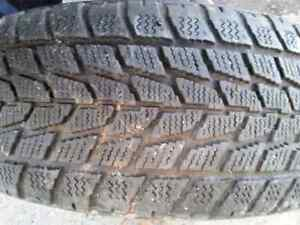 4 pneus hiver 215 70 R16  /  Toyo Open Country /  winter tires