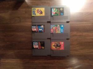 Nintendo (NES) games for sale