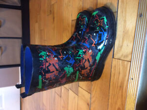 Boys Rubber Boots size 3