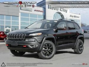 2018 Jeep Cherokee Trailhawk 4x4  - Navigation