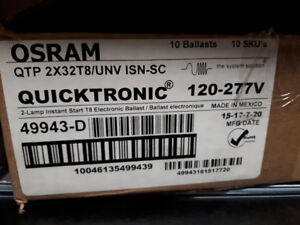 Ballasts - NEVER USED $100 OBO
