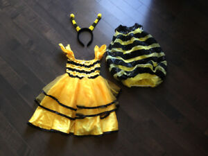 Bumblebee costumes size 3-4T