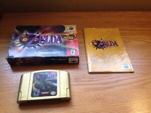 Nintendo 64 Zelda majoras mask holographic edition