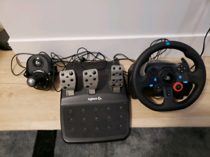 Logitech G29 Racing Wheel, Pedals and Shifter