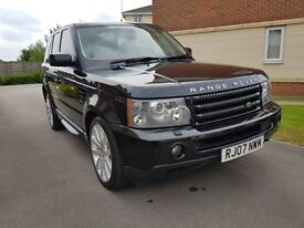 Land Rover Range Rover Sport V8 HSE E4 (black) 2007
