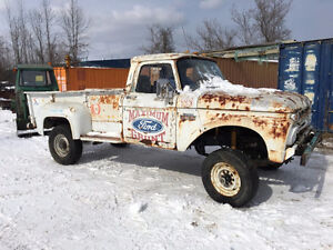 1963 ford f series  HD 4x4 step side