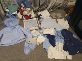 Baby boy clothes 0-3 months plus
