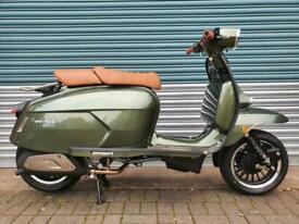 ROYAL ALLOY GP300 GREEN METAL BODY BRAND NEW CLASSIC RETRO STYLE SCOOTER
