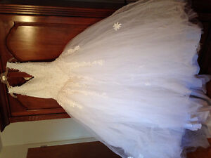 wedding dress in fabulous condition.