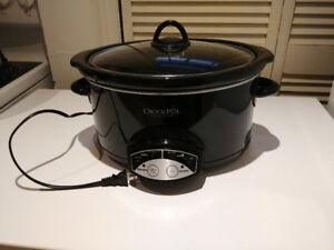 5 Quart Crock Pot Slow Cooker