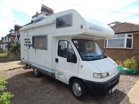 Hymer Swing 544 Left Hand Drive 5 Berth Motorhome - Campervan for Sale
