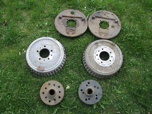 Buick brake drums