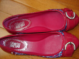 Size 7 Coach flats NEVER WORN London Ontario image 2