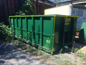 BINS FOR SCRAP AND RUBBISH