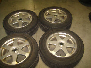 225-60-16 CONTINENTAL WINTER TIRES TOPRUN SPORTY MAGS 5X114.3
