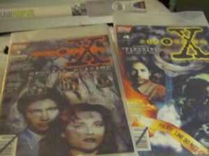 limited edition topps comics The X-Files 1-7 comic books. 140obo