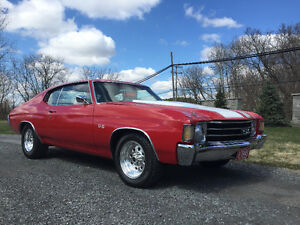 1972 Chevrolet Chevelle SS  - voiture de collection -