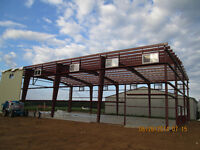 Steel Building Sales and  Erecting Services in Belleville