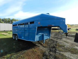 2007 Real Industries 18' Stock Trailer