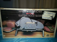 Rival Electric food slicer