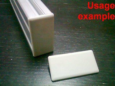 Aluminum T-slot Profile End Cap Plastic White-grey 30x60mm 12-set