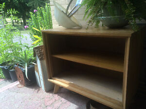 Retro 1950s hardwood cupboard