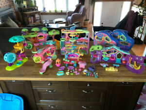 LPS - Lot de Modules et Accessoires - Littlest Pet Shop