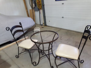 Rod Iron Table and Chairs