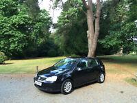 2007/57 Volkswagen Golf 1.6 FSI ( 115PS ) Match 5 Door Hatchback Black