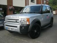 2007 57-Reg Land Rover Discovery 3 2.7TD V6 auto SE,FULLY LOADED,AMAZING COND!!!