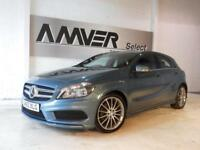 2013 62 MERCEDES-BENZ A CLASS 1.5 A180 CDI BLUEEFFICIENCY AMG SPORT 5D 109 BHP D