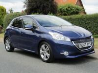 2013 Peugeot 208 1.6 e HDi ALLURE 5DR TURBO DIESEL HATCHBACK ** 36,000 MILES ...