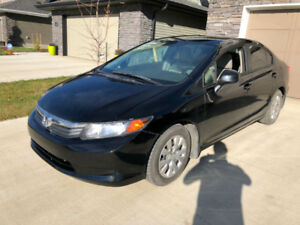 2012 Honda Civic, Winter Tires, Remote Starter