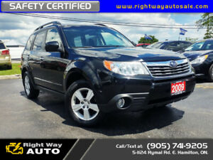 2009 Subaru Forester Premium | AWD | SAFETY CERTIFIED