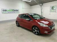 RED PEUGEOT 208 1.6 THP GTI LIMITED EDITION 3D *BUY NOW FROM £32 PER WEEK*