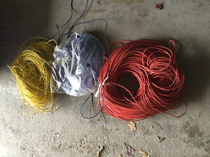 NEW PRICE 3 rolls of wire