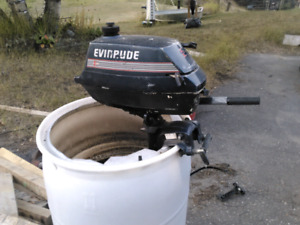 3hp Evinrude outboard