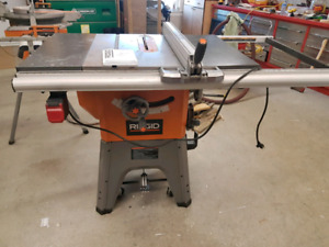 "Ridgid 10"" table saw/ and 12"" mitre saw $450 obo each"