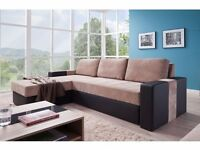 Corner Sofa Bed ADEN - SALE!