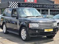 2007 Land Rover Range Rover 3.6 TD V8 Vogue 5dr Diesel black Automatic