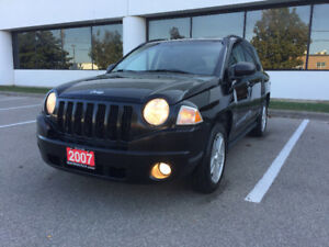 *CERTIFIED*2TRS WARRANTY*2007 Jeep Compass Sport SUV, Crossover