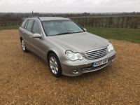 Merceds c220 diesel estate 2007 low miles air con £2595