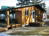 LAKEFRONT CABIN FOR SALE- 45 MINS STRAIGHT WEST OF EDM